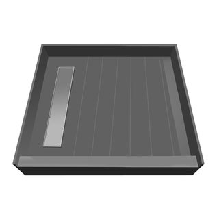 Redi Trench 42 x 42 Shower Pan Left Tileable Trench