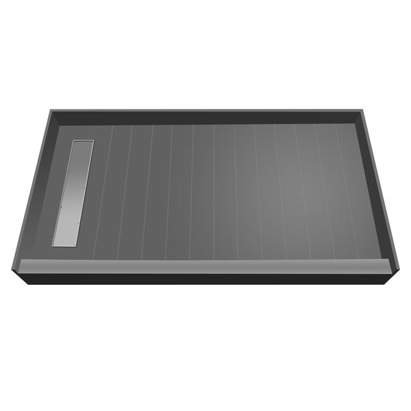 Redi Trench 48 x 72 Shower Pan Left Tileable Trench