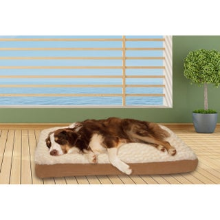 FurHaven Ultra Plush Deluxe Memory Top Pet Bed (More options available)