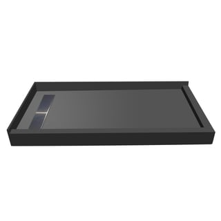 Redi Trench 48 x 60 Pan Left Solid BN Trench R Dual Curb