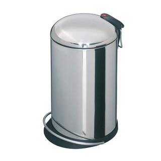 Hailo Top Design 16-liter Waste Bin (Option: Stainless Steel)