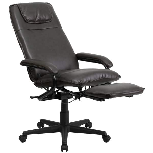 High Back Leathsoft Executive Reclining Office Chair