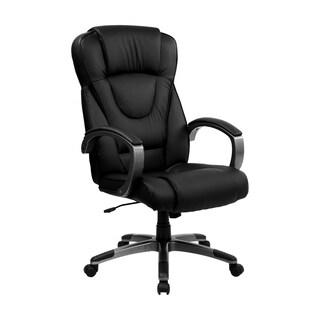 Executive Black LeatherHigh Back Office Chair