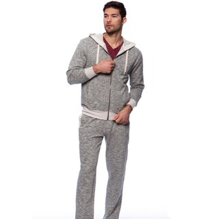 Mad Dash French Terry Long-sleeved Zip Lounge Set