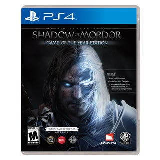 PS4 - Middle Earth: Shadow Of Mordor Game Of The Year Edition
