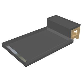 Kohler Tresham 60 Inches X 36 Inches Single Threshold