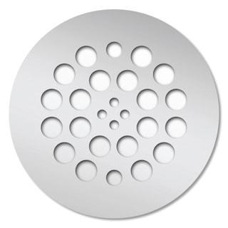 Redi Drain 4.25 x 4.25 Polished Chrome Round Drain Plate