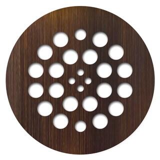 Redi Drain 4.25 x 4.25 Oil Rubbed Bronze Round Drain Plate