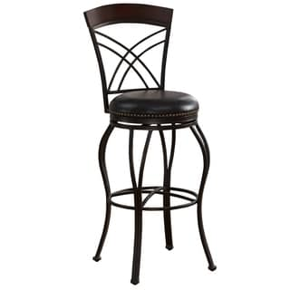 Sparta 34 Inch Tall Swivel Bar Stool 14474804