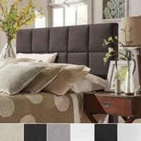 Fenton Panel King Size Upholstered Headboard iNSPIRE Q Modern