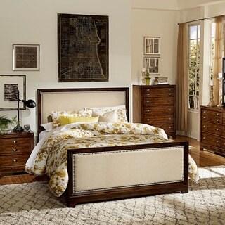 Oliver Cherry Nailhead Trim Bed