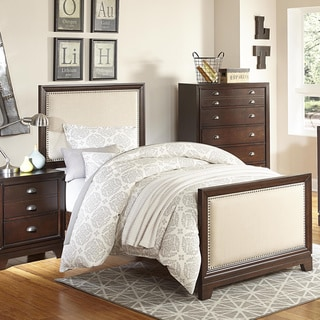 Oliver Cherry Nailhead Trim Bed