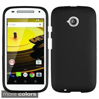 Insten Hard Snap-on Rubberized Matte Phone Case Cover For Motorola Moto E(2nd Gen)