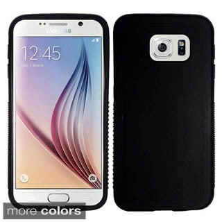 Insten Clear Rugged TPU Rubber Candy Skin Phone Case Cover For Samsung Galaxy S6