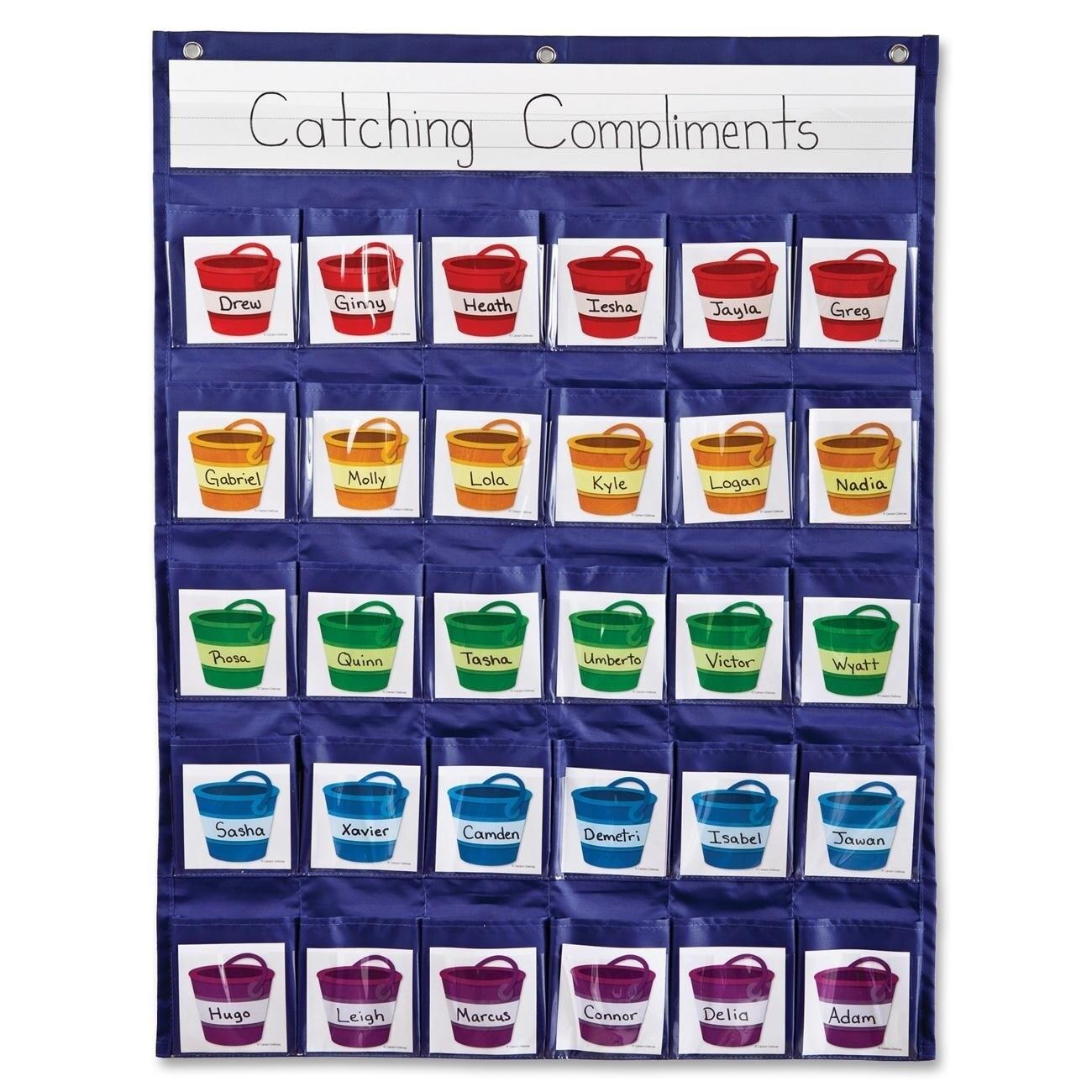 Carson Dellosa Educational Pocket Chart - 1/EA (Master), ...