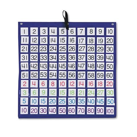 Carson-Dellosa Educational Pocket Chart - 100/EA