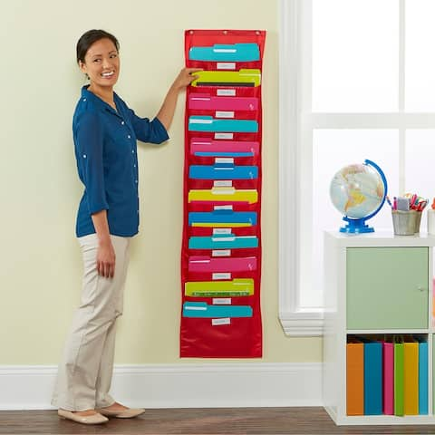 Educational Insights Space Place Pocket Chart - 1/EA