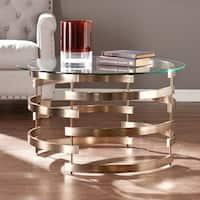 Silver Orchid Grant Cocktail/ Coffee Table