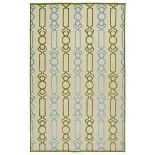 Indoor/Outdoor Luka Green Mod Rug (8'8 x 12'0)