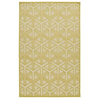 Indoor/Outdoor Luka Gold Dimensions Rug (8'8 x 12'0)|https://ak1.ostkcdn.com/images/products/10127559/P17265563.jpg?impolicy=medium