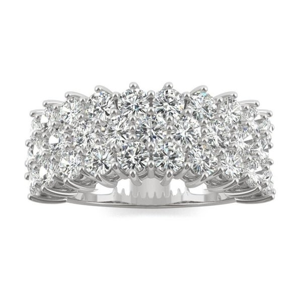 Moissanite by Charles & Colvard 14k Gold 3.00 TGW Round Fashion Ring