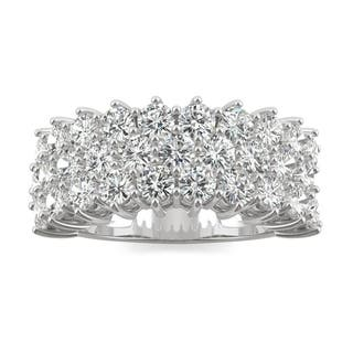 Charles & Colvard 14k Gold 3.00 TGW Round Forever Brilliant Moissanite Fashion Ring|https://ak1.ostkcdn.com/images/products/10127715/P17265720.jpg?impolicy=medium
