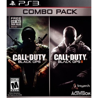 Call of Duty Black Ops 1 & 2 Bundle with First Strike Map Pack-For PS3