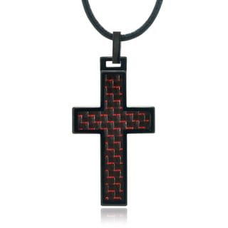 Vance Co. Tungsten Cross Pendant
