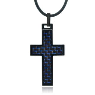 Vance Co. Men's Tungsten Cross Pendant|https://ak1.ostkcdn.com/images/products/10128106/P17265848.jpg?impolicy=medium