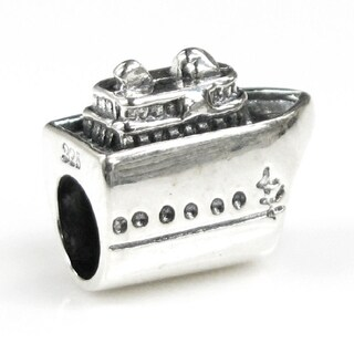Queenberry Sterling Silver Nautical Cruise Liner Ship Travel Voyage Vacation Holiday Series European