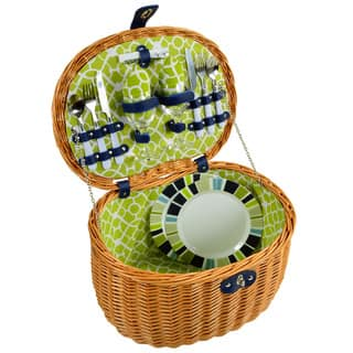 Picnic at Ascot Ramble Picnic Basket for Two|https://ak1.ostkcdn.com/images/products/10128238/P17266006.jpg?impolicy=medium