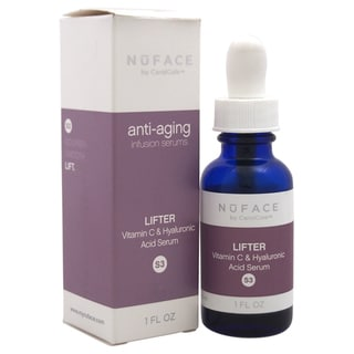 NuFACE Lifter Vitamin C and Hyaluronic Acid 1-ounce Serum