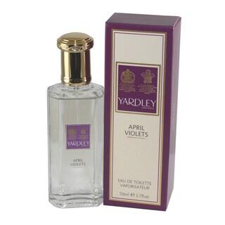 Yardley of London April Violets Women's 1.7-ounce Eau de Toilette Spray