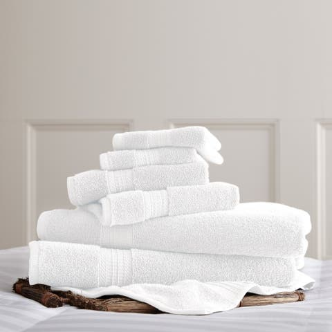 Modern Threads 700 GSM 100-percent Cotton 6-piece Towel Set