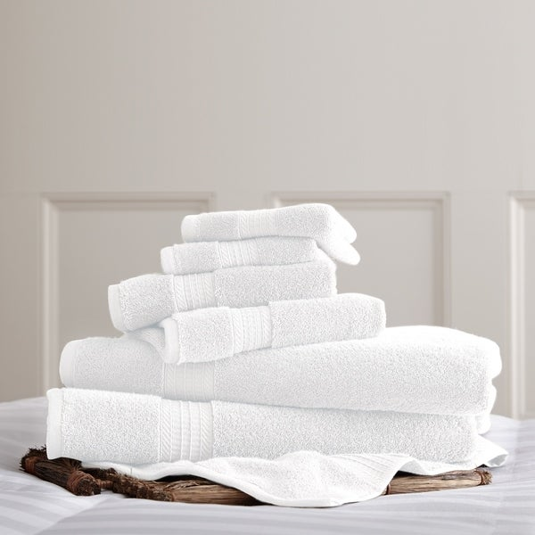Amrapur Overseas 700 GSM 100-percent Cotton 6-piece Towel Set
