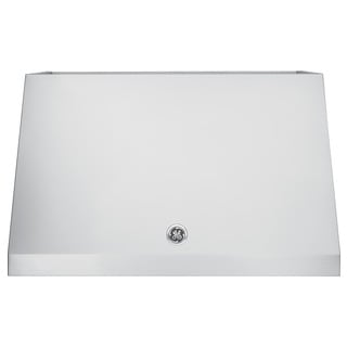 GE Caf 30 Inch Wall Mount Range Hood with 600 CFM Blower