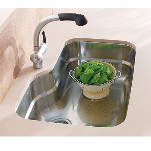 Shop Franke Orca ORX110 Single Bowl Undermount Kitchen Sink - Free ...