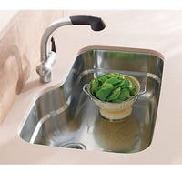 Franke Orca ORX110 Single Bowl Undermount Kitchen Sink - Silver