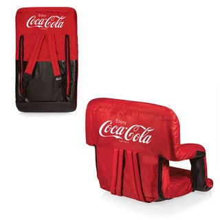 Coka-Cola Picnic Time Ventura Portable Recliner Chair