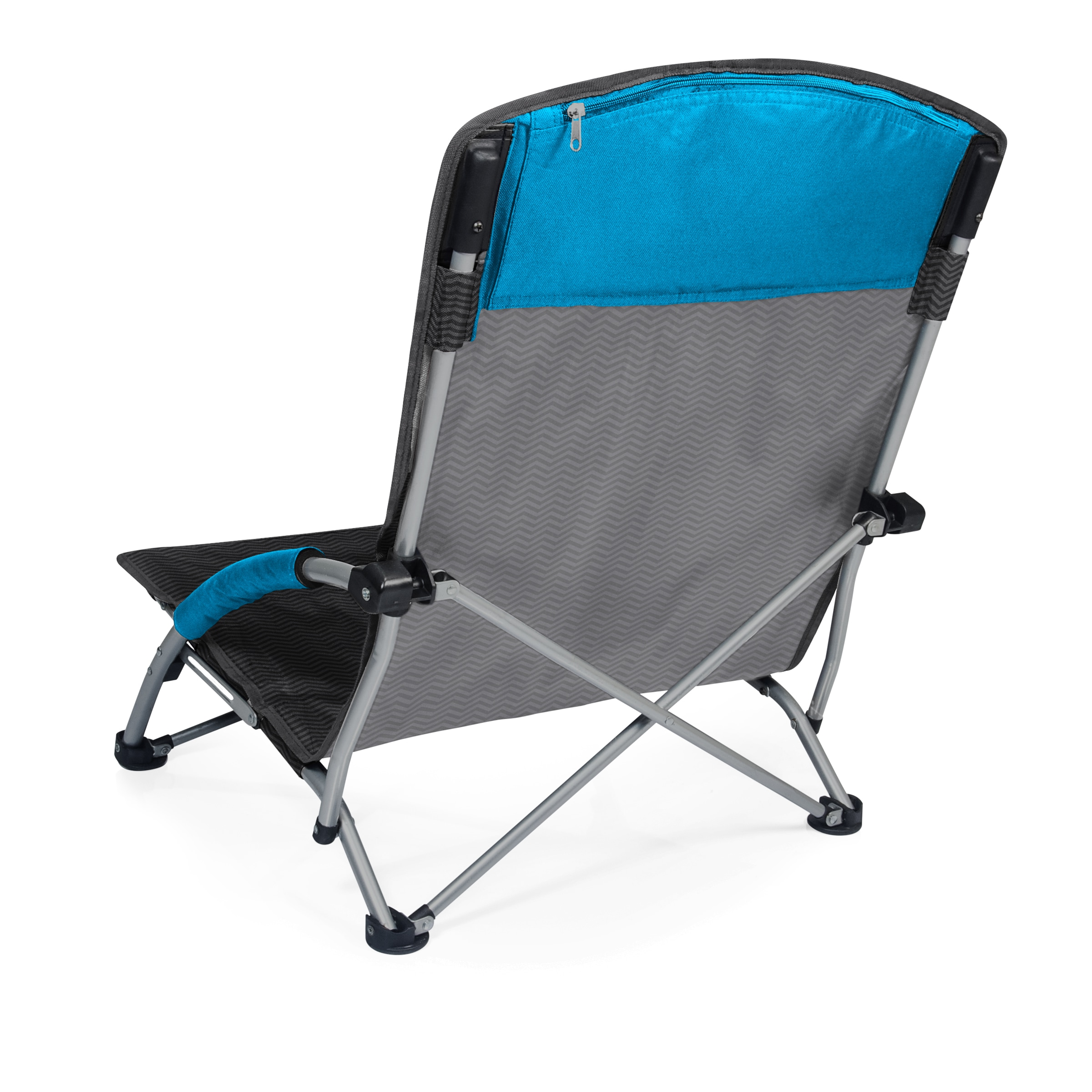 Waves Collection Picnic Time Tranquility Chair Portable Beach Chair