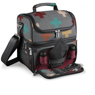 Picnic Time Pixels Collection Pranzo Lunch Tote