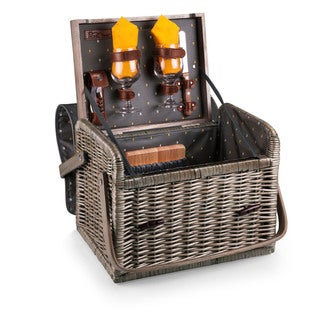 Picnic Time Anthology Collection Kabrio Wine and Cheese Basket