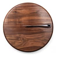 Legacy Solstice Black Walnut Cutting Board and Cheese Knife Set