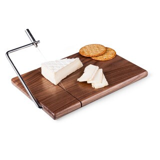 Legacy Meridian Black Walnut Cutting Board and Cheese Slicer