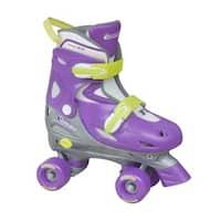 Chicago Girls Purple/ Yellow Adjustable Roller Skate