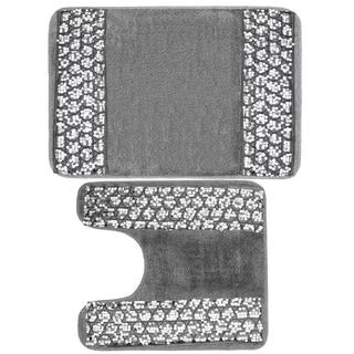 Luxury Bathroom Rug and Contour Rug Set or Separates