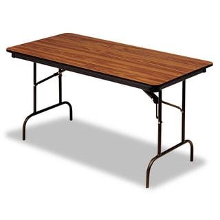 Iceberg Premium Oak Wood Laminate Folding Table