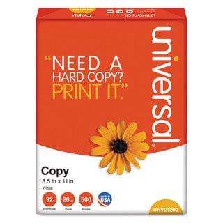 Universal White Copy Paper