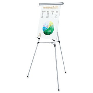 Universal Silver 3-Leg Telescoping Easel with Pad Retainer