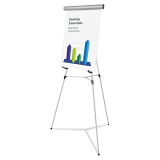 Universal One Silver Heavy Duty Presentation Easel